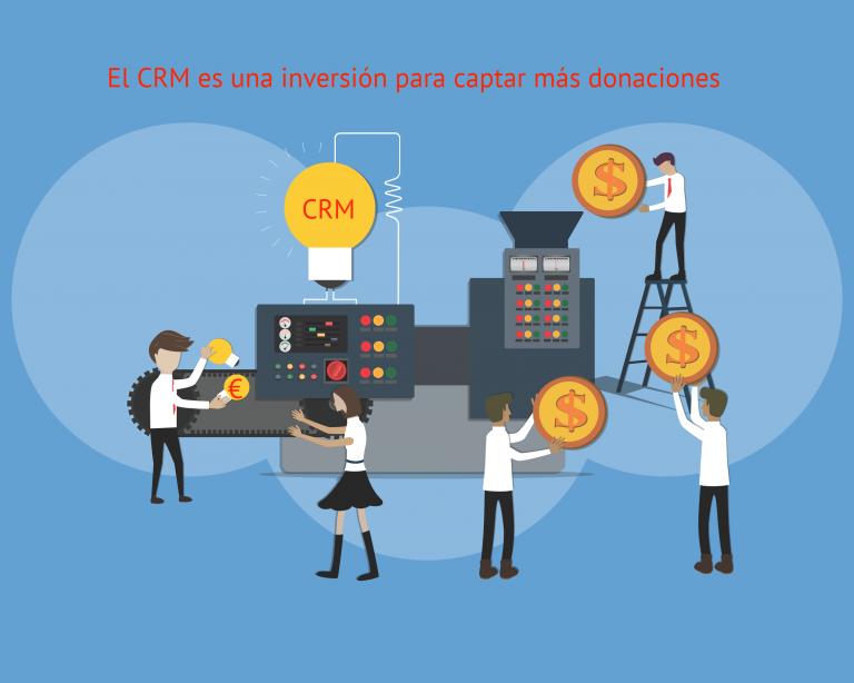 El CRM es una inversión en tu ONG