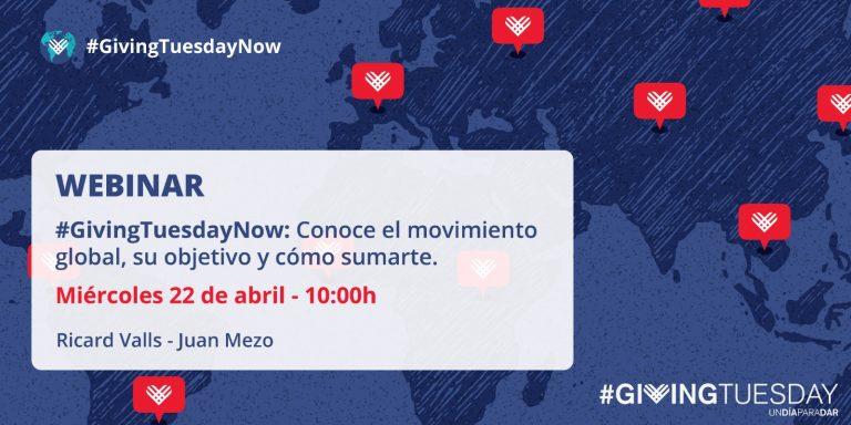 GivingTuesdayNow, un día mundial de unión en respuesta a la crisis causada por el Covid-19